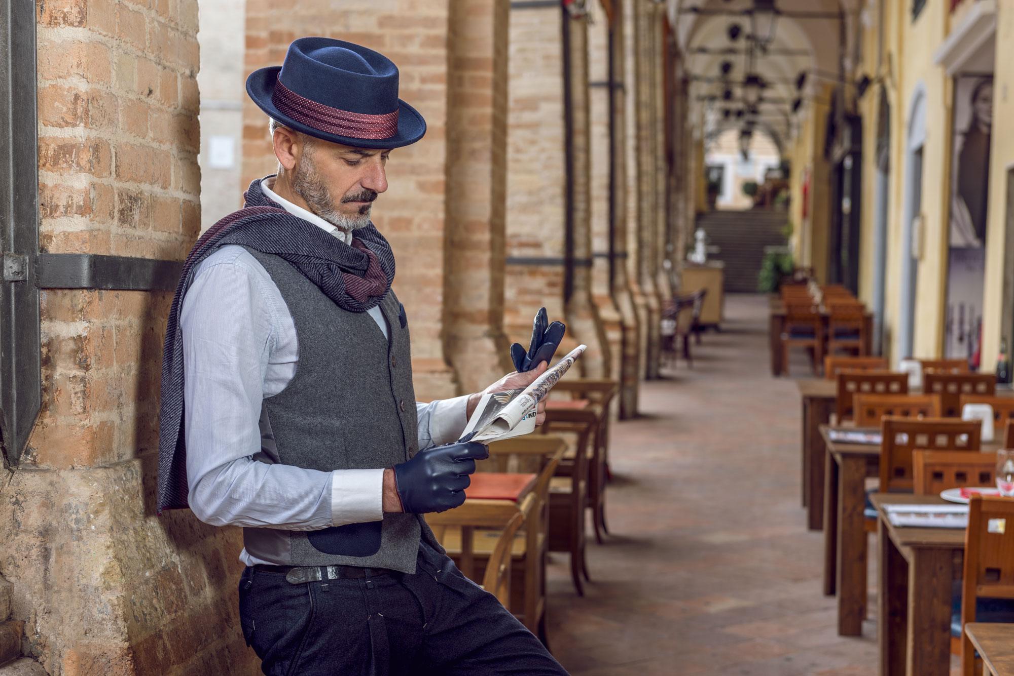foto cappelli uomo Passagrilli