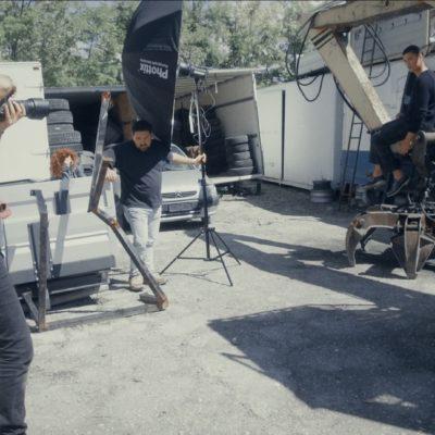 Video backstage catalogo scarpe uomo GNV