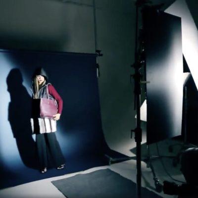 Video backstage del catalogo borse Giudi, fotografo Marco Arbani