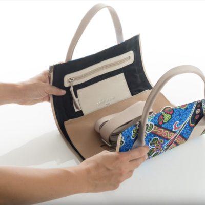 Stop-motion montaggio borsa linea Tangram