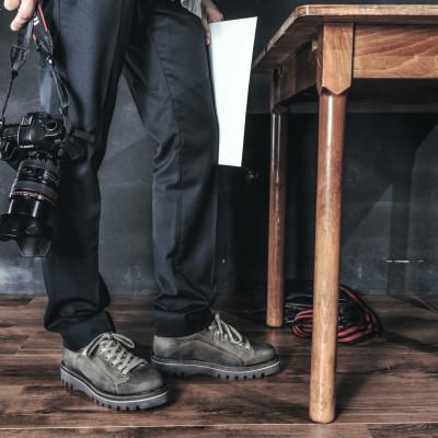 Catalogo advertising scarpe Gianfranco Butteri