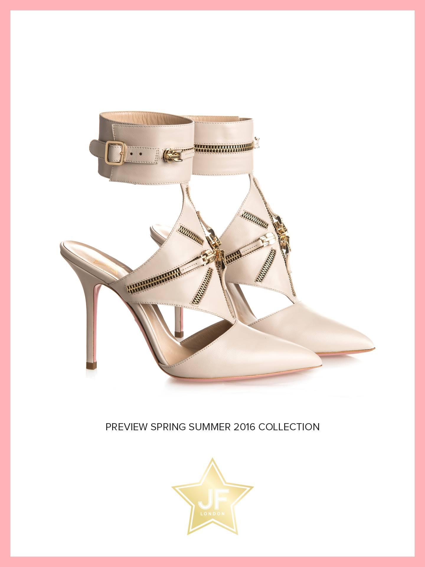 foto scarpe JF London donna beige