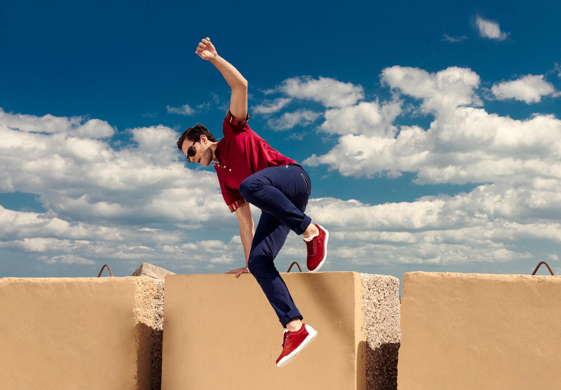 Foto catalogo scarpe moda uomo estate