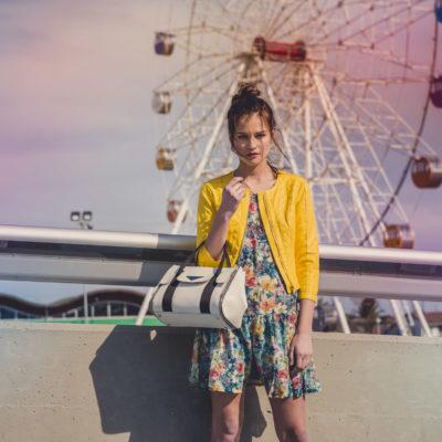 Video spot della collezione di borse in pelle Tangram by Gianni Altieri